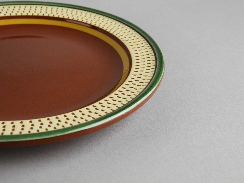 Middagstallerken, Hammerkrok fra Potteriet Røros. Foto: Tom Gustavsen